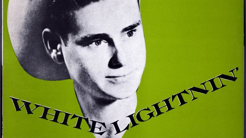 "Illustration for article titled In 1959, George Jones gave listeners a lesson in ""White Lightning"""