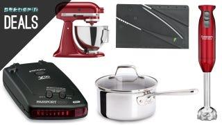 Illustration for article titled Kitchen Upgrades, Black Light Flash Light, Radar Detector [Deals]