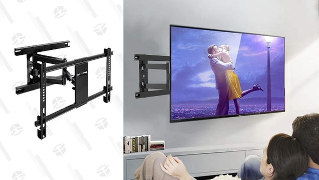 Marry Your TV to the Wall With a $27 Articulating Mount