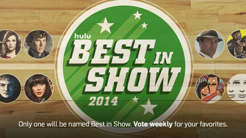 Illustration for article titled Vote in Hulu's Best In Show poll, and reverse Todd VanDerWerff's abysmal choices