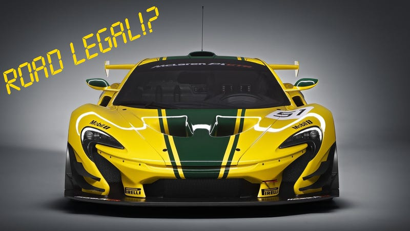 Illustration for article titled Rumor: McLaren MSO to build 25 Road-Legal P1 GTRs