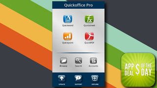 Illustration for article titled Daily App Deals: Get Quickoffice Pro for Android for Free in Today's App Deals