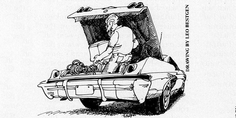 Illustration for article titled Peter Egan on the Unironic Appeal of Ginormous American Land Yachts
