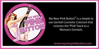 """Illustration for article titled My New Pink Button: """"Restore The Youthful Pink Color Back To Your Labia"""""""