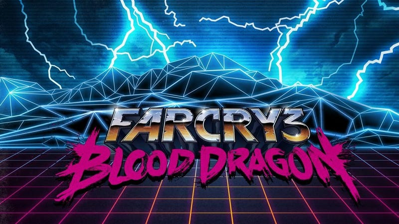 Illustration for article titled If This Really Is Far Cry 3: Blood Dragon's Soundtrack, Then Oh My God