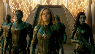 Captain Marvel and her squad.