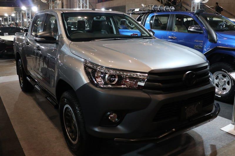 8th-generation Hilux, shown in Tokyo Auto Salon.