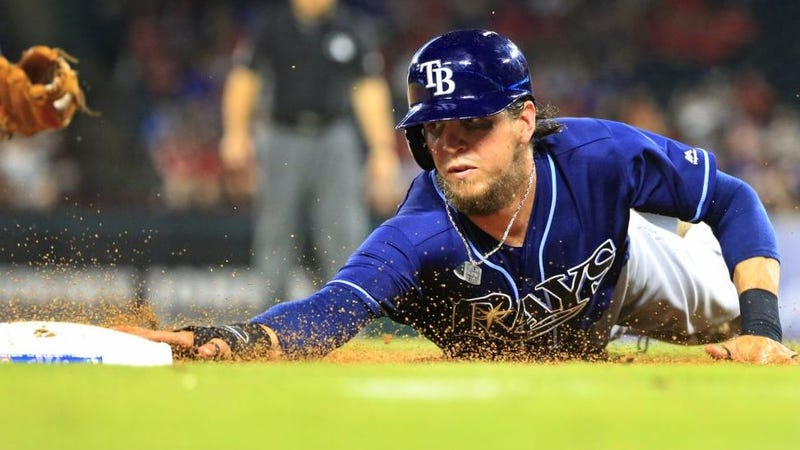 Rays OF Colby Rasmus steps away from baseball