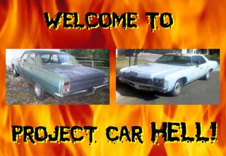 Illustration for article titled Project Car Hell, Repo Man Edition: J. Frank or Bud?