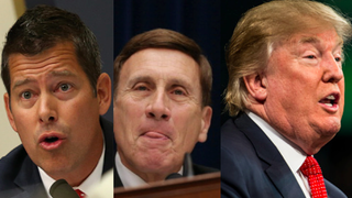 Rep. Sean Duffy (R-Wis.), Rep. John Mica (R-Fla.) and GOP presidential hopeful Donald Trump have all said some questionable things about race.Win McNamee/Getty Images; Chip Somodevilla/Getty Images; Sean Rayford/Getty Images