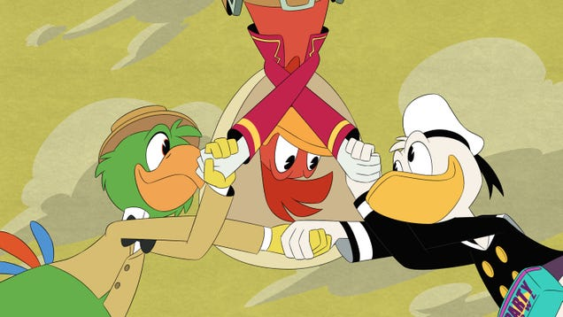 Donald reunites with his old Three Caballeros compadres in a wildly fun and visually impressive DuckTales