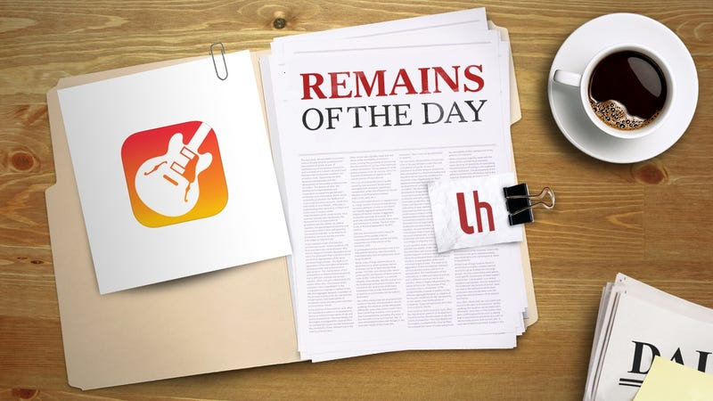 Illustration for article titled Remains of the Day: Apple Revamps GarageBand for iOS