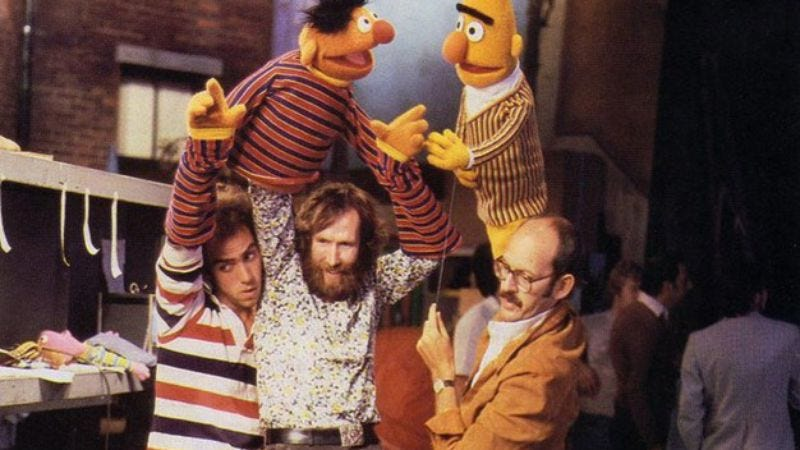 Read This: a long but good excerpt from a new book on how Jim Henson balanced art and commerce