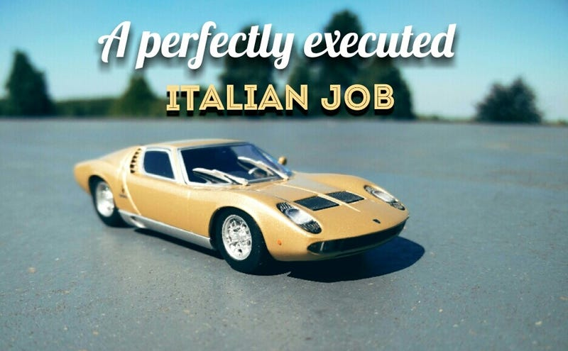 Illustration for article titled A perfectly executed Italian job