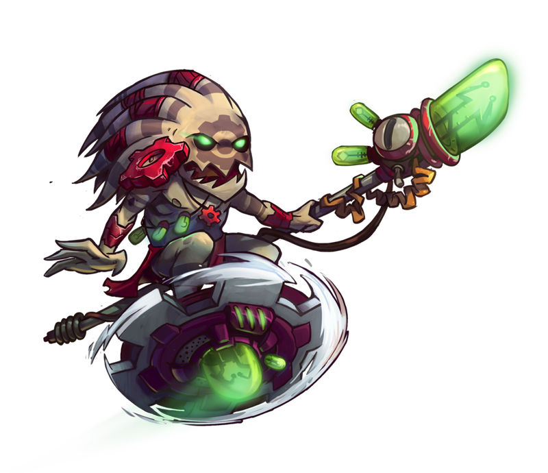 Illustration for article titled Next Awesomenauts Patch Will Include New Character, AI Editor