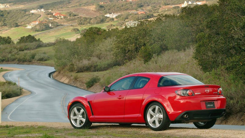Illustration for article titled Your Extremely Reliable Mazda RX-8 Was Recalled Again