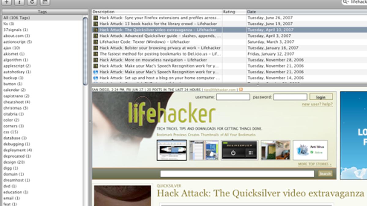 Cocoalicious Is Your Dedicated Del icio us Browser