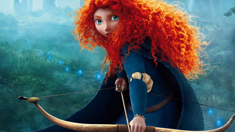 Illustration for article titled Merida From Brave Isn't a Lesbian, But She Could Be