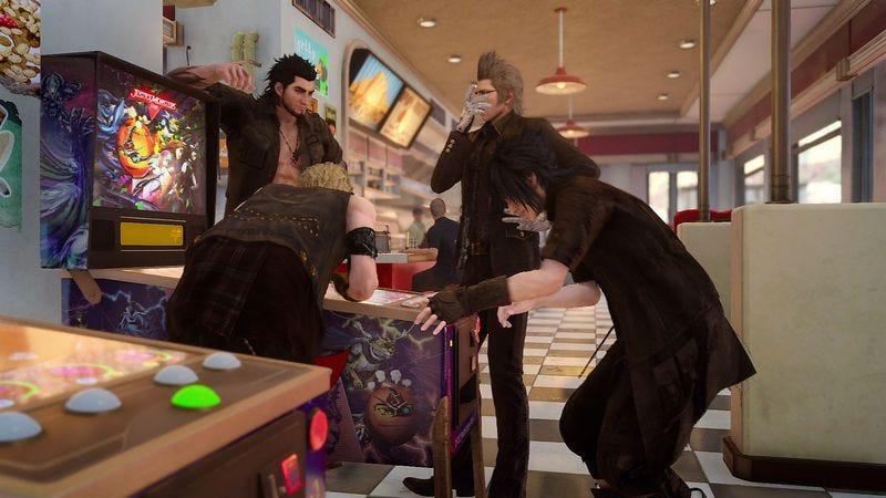 Screenshot: Final Fantasy XV