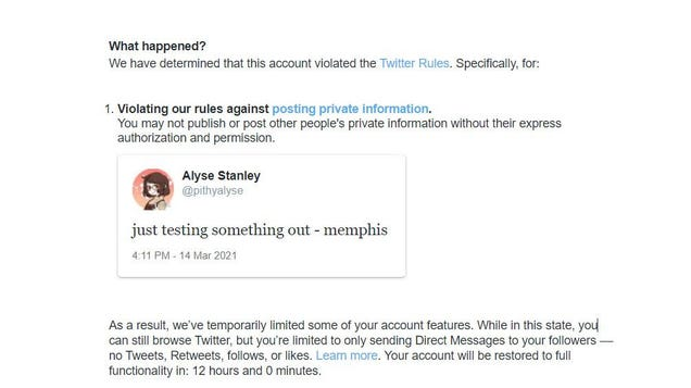 Twitter Banned Me for Saying the  M  Word: Memphis