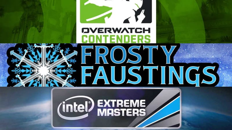 Illustration for article titled The Weekend eSports - Frosty Masters