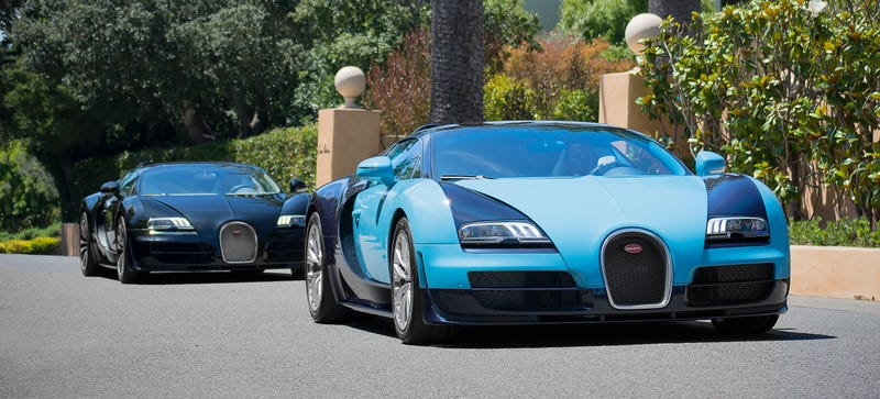 Illustration for article titled Fewer Than 20 Bugatti Veyrons Left For Sale