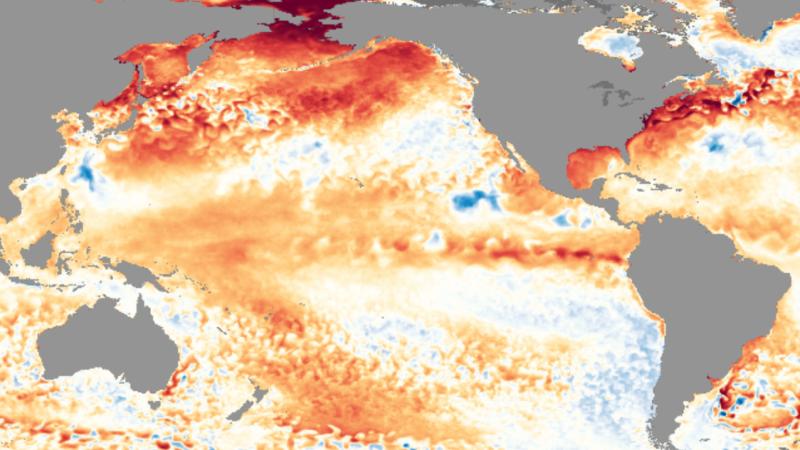 Aquí viene El Niño.