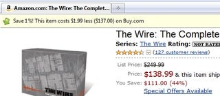 Illustration for article titled Invisible Hand Subtly Shows Best Web Prices