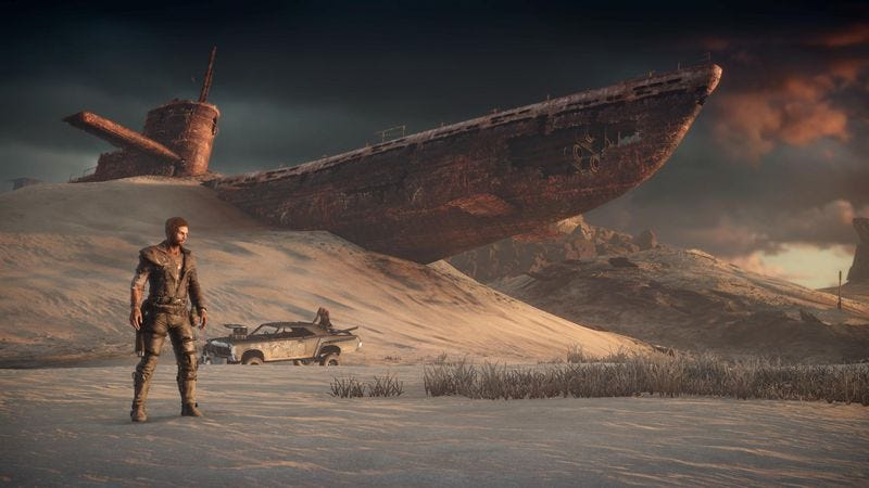 The mad max video game has a lot to say but its best when silent gumiabroncs Images