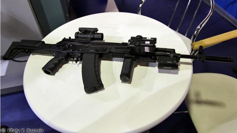Illustration for article titled Rusia quiere reinventar el Kalashnikov