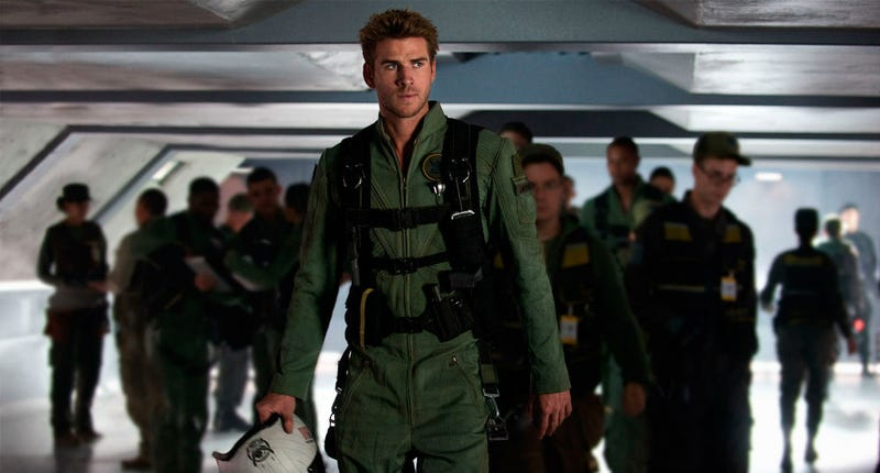 Liam Hemsworth is one of the new stars in the Independence Day world. Image: Fox