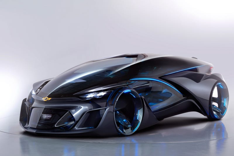 Illustration for article titled The Chevrolet FNR is the insane futuristic car, America deserves