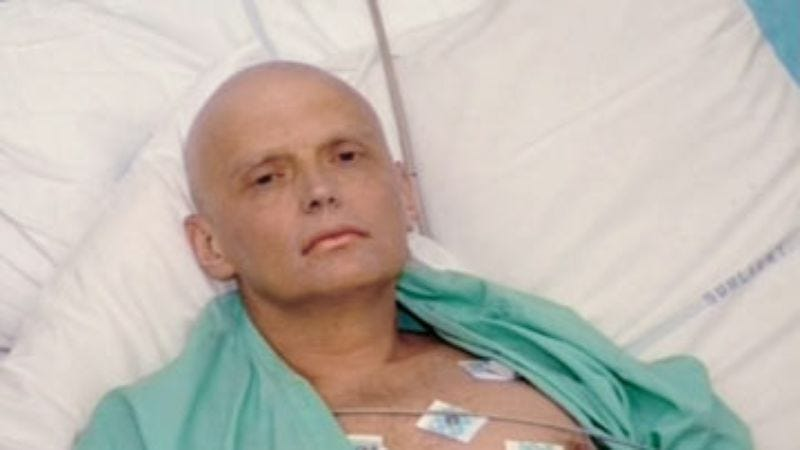 Illustration for article titled Poisoned By Polonium: The Litvinenko File