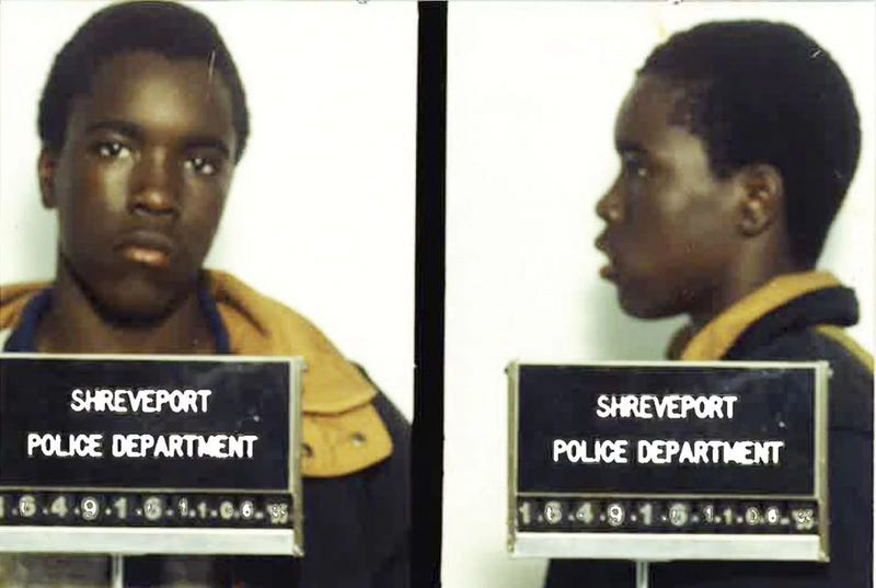 Booking photos of Corey Williams, taken by the Shreveport, La., Police Department