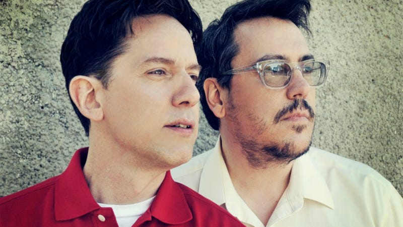 Flansburgh, right, with John Linnell