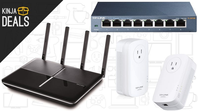 Illustration for article titled Upgrade Your Home Network With Today's Amazon Gold Box