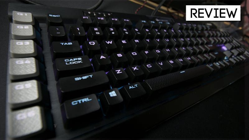 Corsair Gaming K95 RPG Platinum Review: A Very Gaming Keyboard