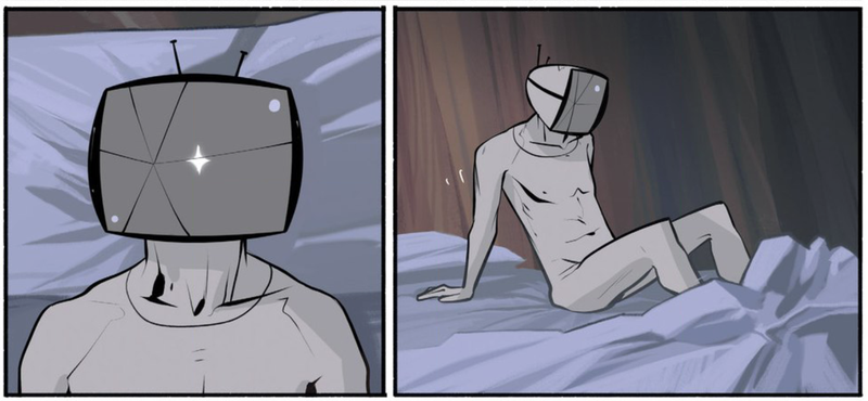 Illustration for article titled SagaIs the Best Comic in the Universe Because It Shows You How Evil Robots Jack Off