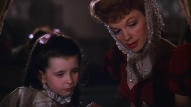 one of the most famous christmas songs ever is actually a real downer - Have Yourself A Merry Little Christmas Judy Garland