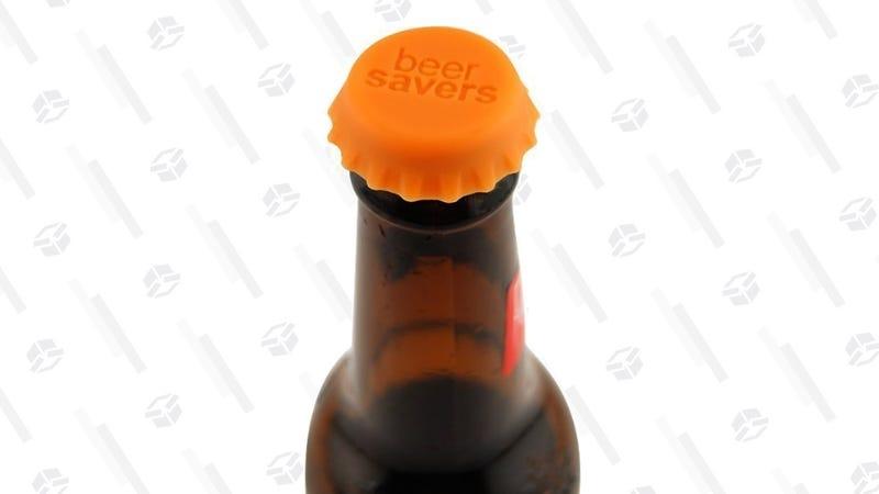 Beer Savers 6-Pack Rubber Bottle Caps | $5 | Amazon