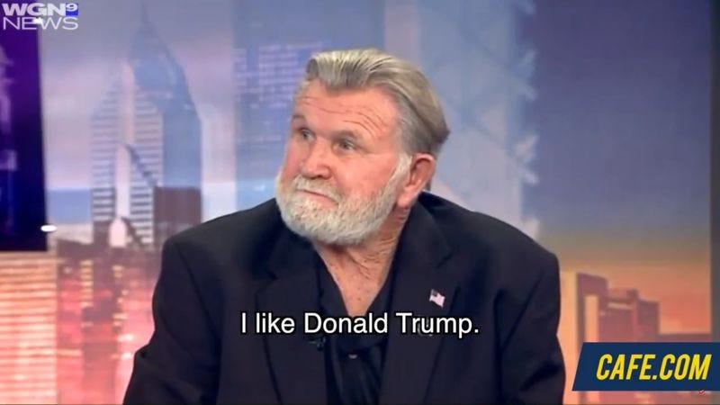 Screenshot: Bill Swerski's Superfans find out Mike Ditka is endorsing Donald Trump/Cafe.com