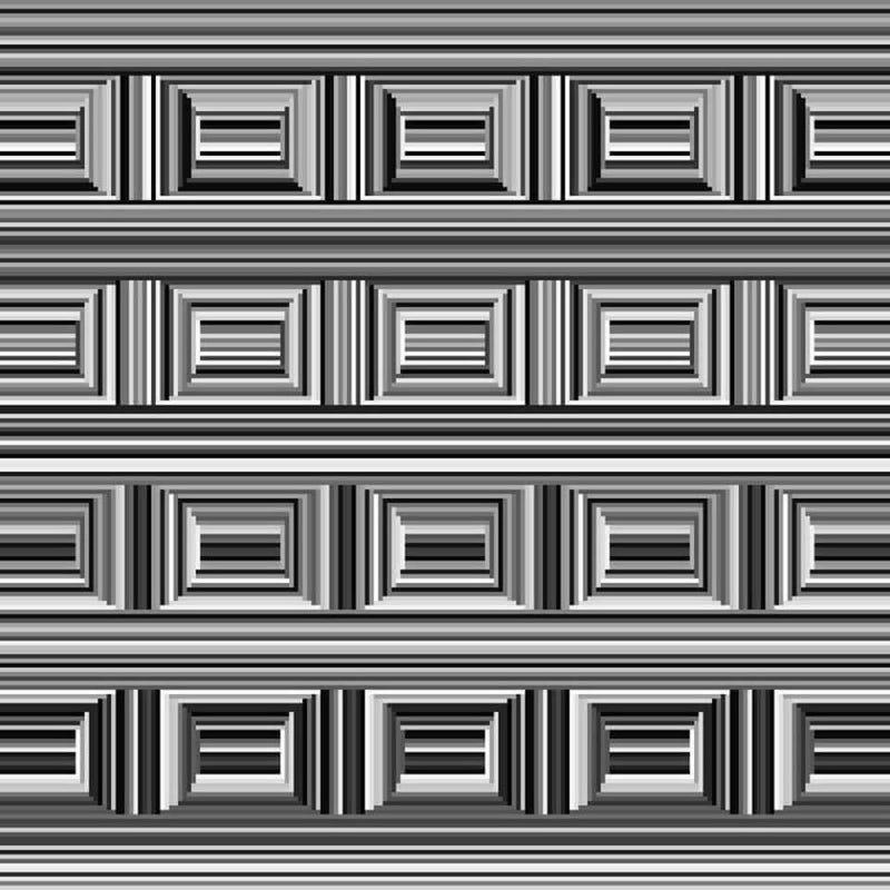 Illustration for article titled En esta ilusión óptica hay 16 círculos, pero tu cerebro está condicionado para no verlos
