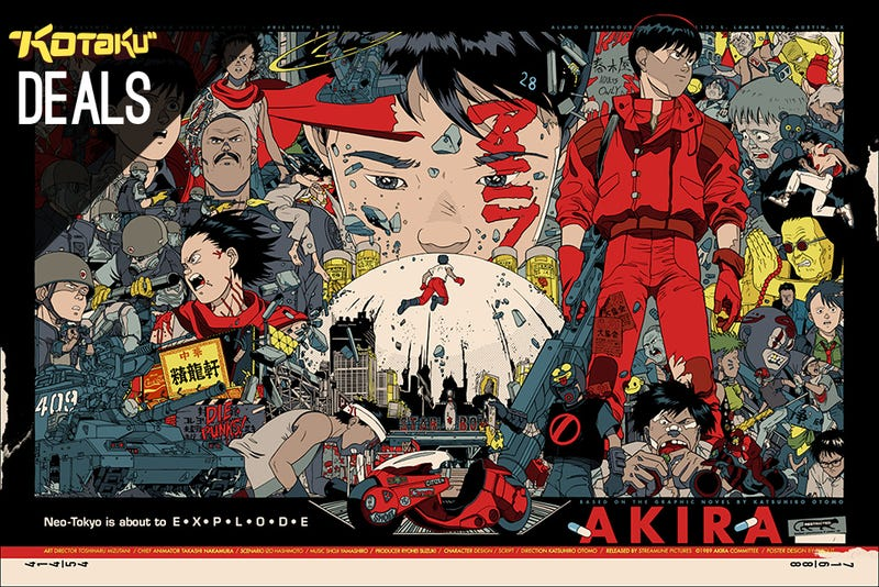 Illustration for article titled Xbox One Games For $40, Free Month Of Redbox Streaming, Akira [Deals]