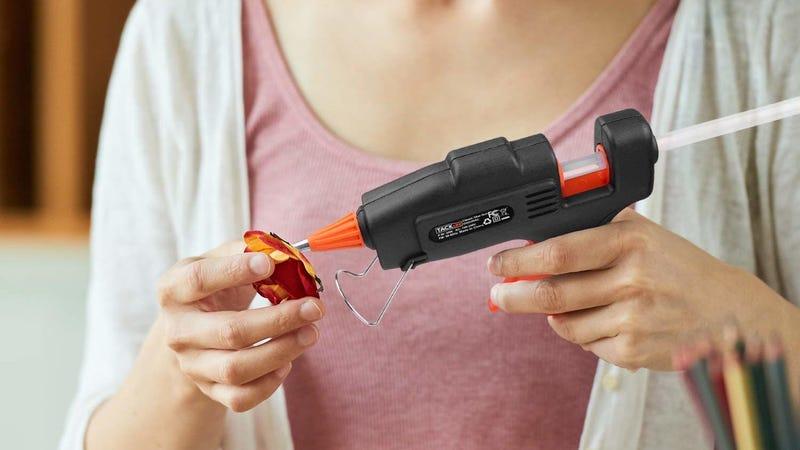 Tacklife Hot Glue Gun + 30 Glue Sticks | $7 | Amazon | Promo code B3CVW4MN
