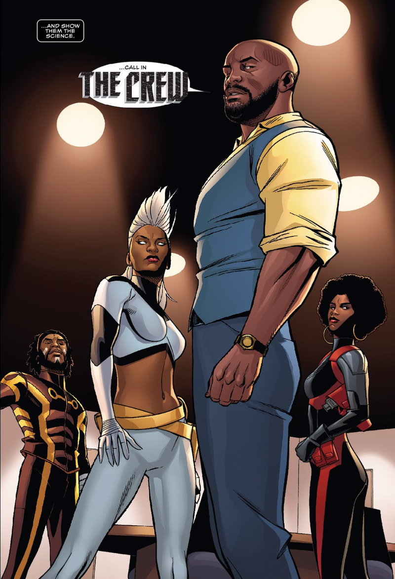 Image result for black panther #6 the crew