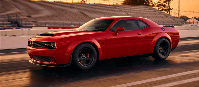 sometime around 2005 i think dodge started teasing us with video previews and tidbits about the 2018 challenger srt demon now finally 12 years and more - Challenger 1985