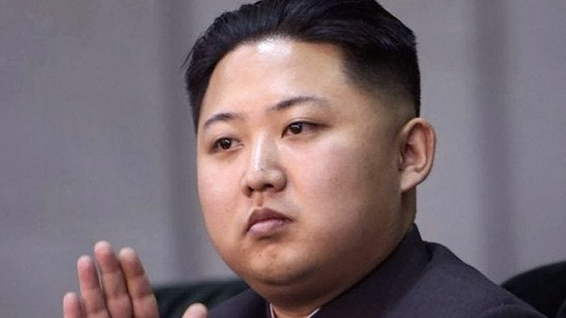 Illustration for article titled Diabetic, Gout-Ridden Kim Jong-Un By Far Healthiest Person In North Korea