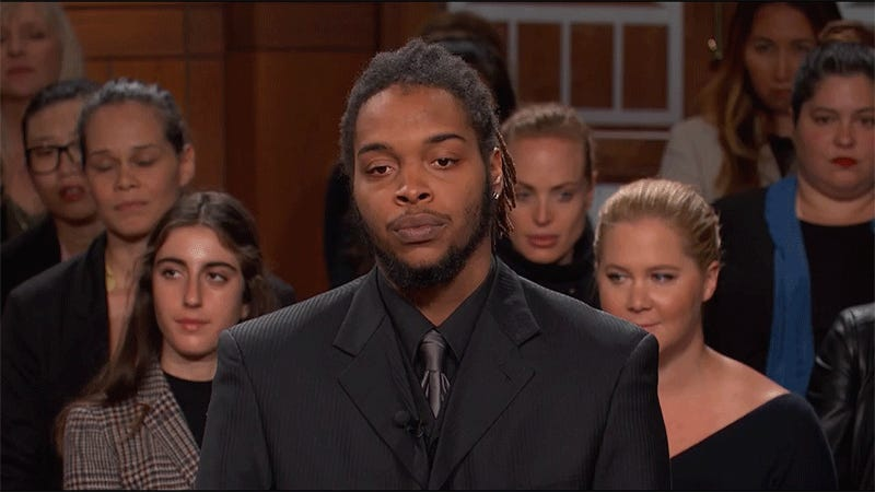 Image result for amy schumer judge judy audience