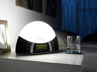 """Illustration for article titled Pure Combines SAD Light With a Digital Radio for Edward Cullen-Free """"Twilight"""" Lamp"""