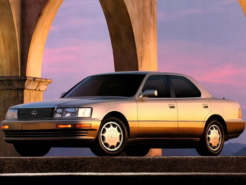 Illustration for article titled Late20 Guide: Lexus LS400